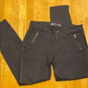 Old navy- the rockstar jean pants size 10 grey